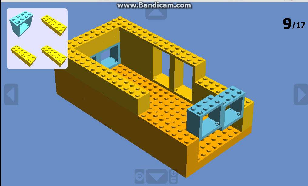 Cum se face o casa in lego city youtube for Case lego city