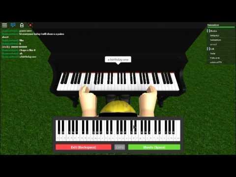 Roblox Piano Sheets Youtube