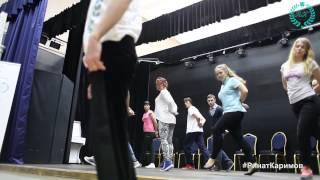 Актерские курсы.Пластическая импровизация. Тренер Сергей Милованов