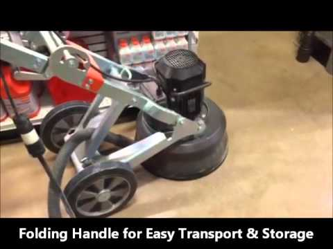 The Rent-It Store Has The Husqvarna PG450 Concrete Grinder/Polisher