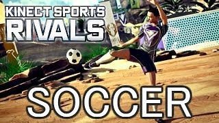 "SOCCER - ""Kinect Sports Rivals"" - Live Co-Op Gameplay Walkthrough Xbox One"