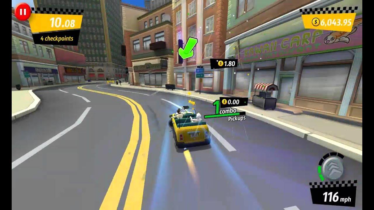 [Crazy Taxi: City Rush] Crazy Taxi City Rush Gamep