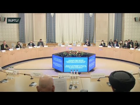 LIVE: Lavrov speaks at Afghan peace conference in Moscow