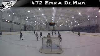 2018-2019 #72 Emma Deman GY 2023 Carolina Lady Eagle Highlights
