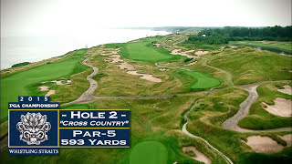 Whistling Straits: Hole 2 Video Flyover