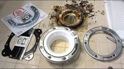 Toilet Flange Repair | Broken Rusted Closet Flange Replacement Kits | How To