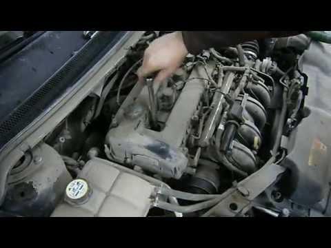 Ford Focus 2 замена свечей зажигания.