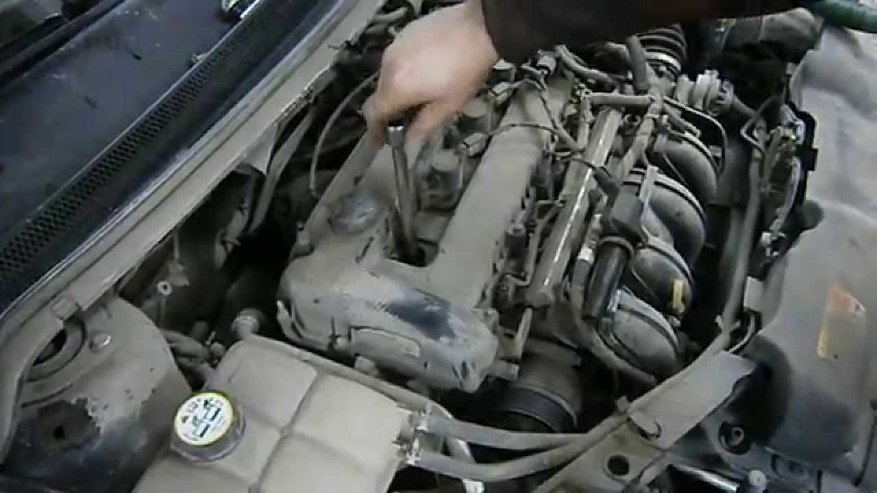 Замена свечей на форде фокусе 2