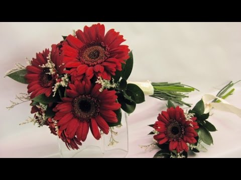 burgundy-gerbera-daisy-wedding-bouquet
