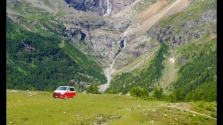 VW T6 California Ocean - Büssli - Bulli - Sommerferien 2020 - Graubünden Schweiz