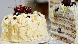 White Forest Cake 🇺🇸🇫🇷 – Bruno Albouze