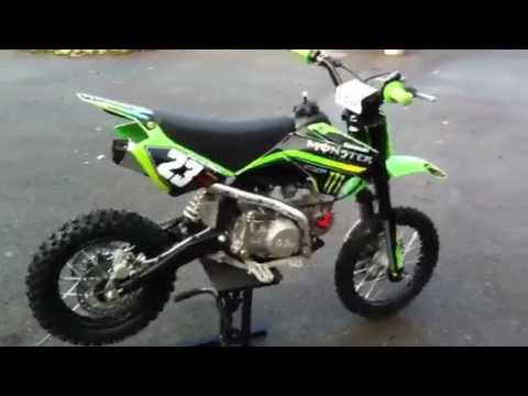125 YCF Monster energy Serie USA - YouTube | 480 x 360 jpeg 17kB