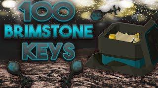 Loot From 100 Brimstone Keys