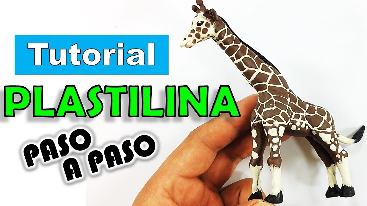 Como hacer una jirafa de plastilina paso a paso polymer - Como hacer un estor enrollable paso a paso ...