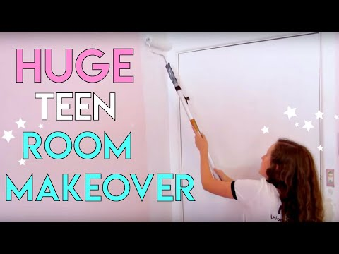 AMAZING Room Makeover for Teenagers | Small Bedroom Makeover! Millie and Chloe