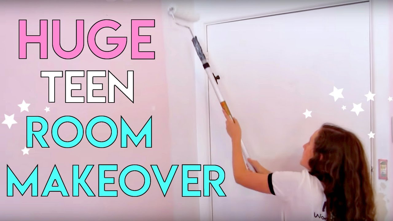 AMAZING Room Makeover for Teenagers | Small Bedroom ... on Teenager Small Space Small Bedroom Design  id=26692