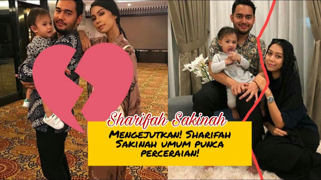 Tergempar! Inilah punca perceraian Sharifah Sakinah & Suami?