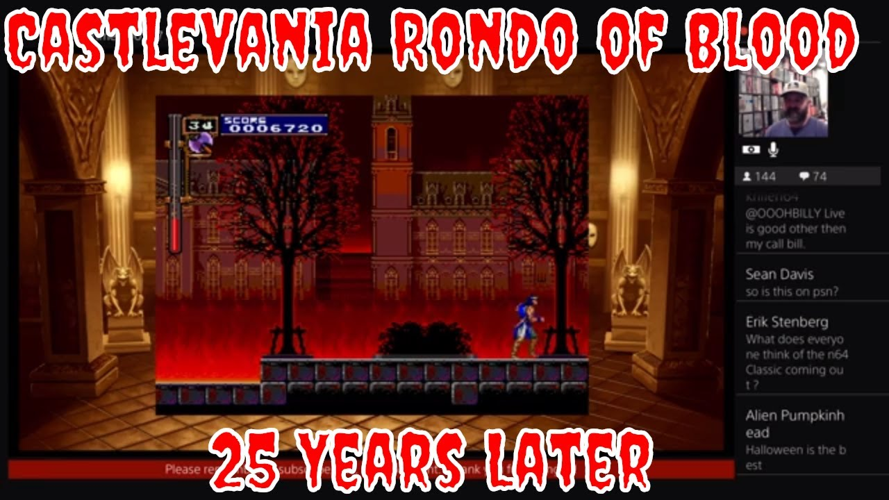 25 Years Later Castlevania Rondo Of Blood Ps4 Youtube