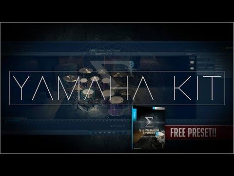 SUPERIOR DRUMMER 3 ¡¡FREE PRESET!! - Yamaha Core Kit