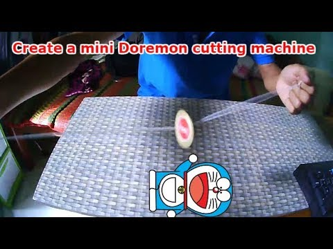 Create a mini doremon cutting machine - DIY Room TV
