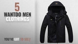 Top 10 Wantdo Men Clothings [ Winter 2018 ]: Wantdo Men