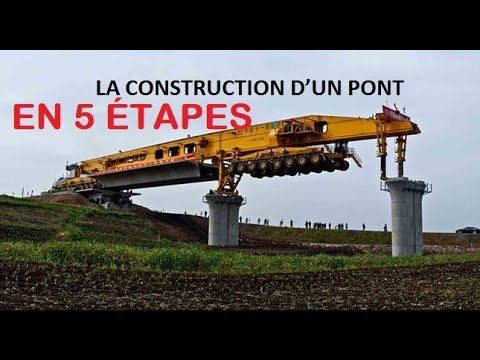 la construction d un pont en 5 tapes youtube. Black Bedroom Furniture Sets. Home Design Ideas