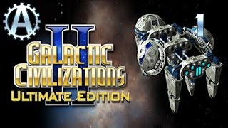 Galactic Civilizations 2 Ultimate Edition Let's Play 1