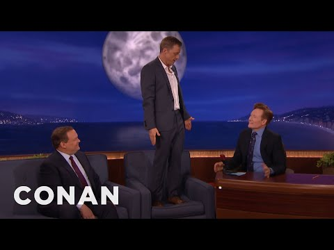 Alan Tudyk's Diego Luna Impression   CONAN on TBS