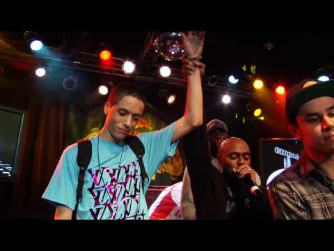 Nas meets Red Bull Big Tune winner C-Sick