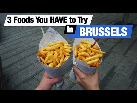 Belgian Food - 3 Dishes To Try In Brussels (Americans Try Be