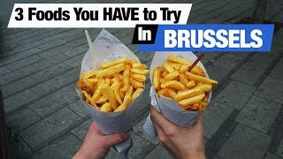 Belgian Food - 3 Dishes To Try In Brussels (Americans Try Belgian Food)