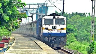 12346 Guwahati Howrah Saraighat Express With SGUJ WDP 4D 40359 Locomotive