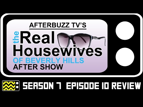Real Housewives Of Beverly Hills Season 7 Episode 10 Review & After Show | AfterBuzz TV