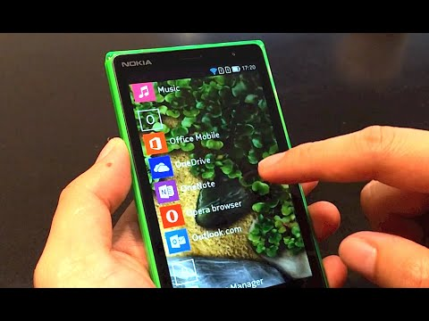 Nokia X2 : Hands On Software Nokia X 2.1