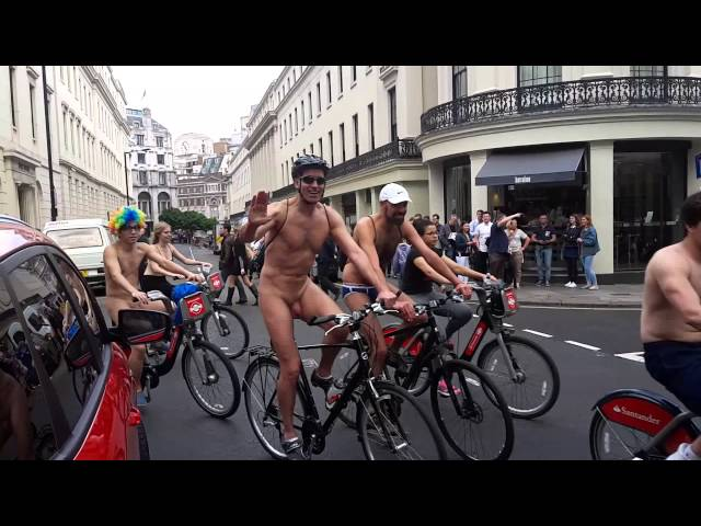 Naked Bike Ride London June 13th 2015