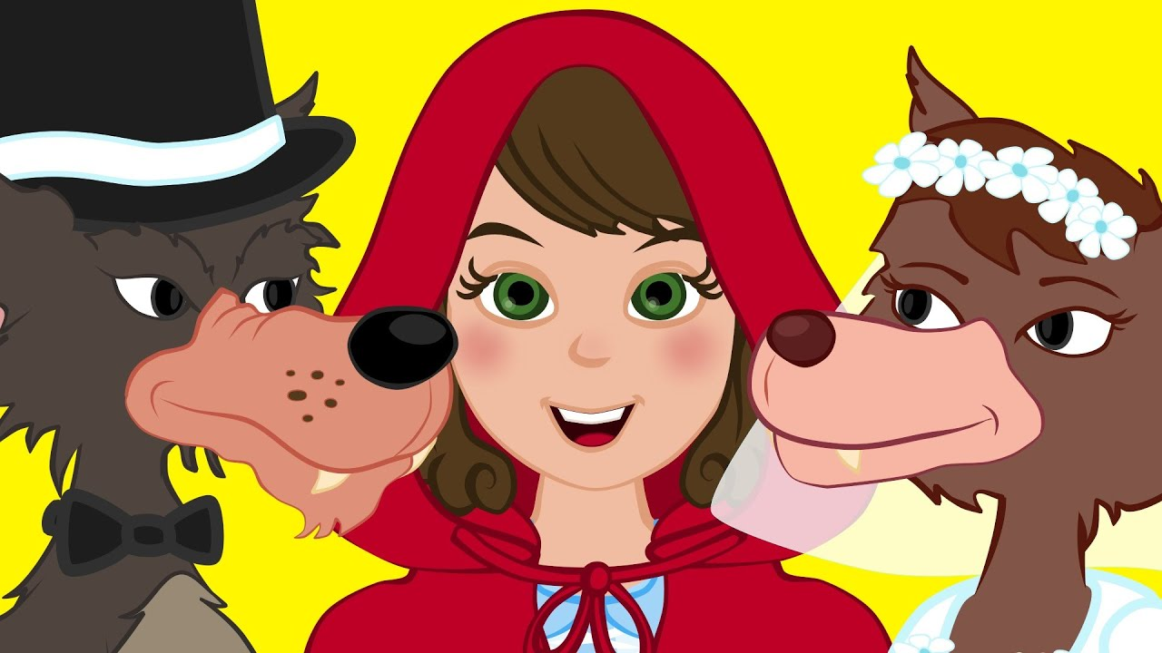 Arroz Con Leche cancion infantil con Caperucita Roja | Canciones Infantiles en Español