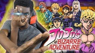 """Jojo's Bizarre Adventure (Part 5) """"Golden Wind"""" Anime CONFIRMED!"""