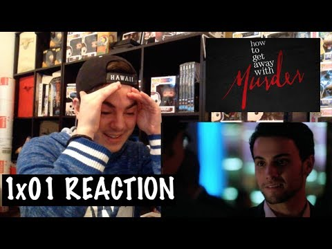 HOW TO GET AWAY WITH MURDER - 1x01 'PILOT' REACTION