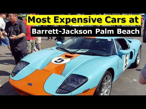 Most Expensive Cars Barrett-Jackson Palm Beach Auction 2019