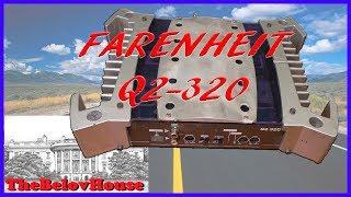 2x50 Ватт музыки в дорогу - автомобильный стерео-усилитель звуковой частоты «Farenheit Q2-320»