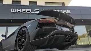 Son moteur Lamborghini Aventador S-Presso Wheelsandmore
