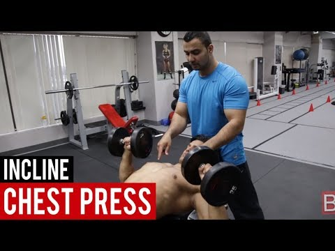 INCLINE DUMBBELL PRESS for CHEST! (Hindi / Punjabi)