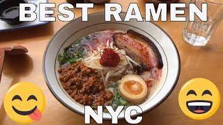 CRAZY GOOD NYC Ramen Spots!