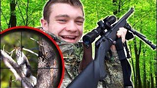 Scope Cam Squirrel Hunting w/ 22lr! (CATCH CLEAN COOK)