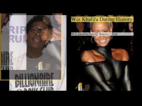 Wiz Khalifa Dating History