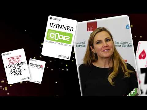CODE Student Accommodation - Winner of the Morrisons Utility Services Customer Focus Award – SME