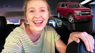 HER BRAND NEW CAR TOUR!