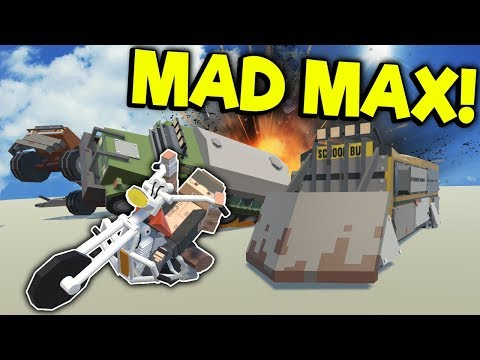 EPIC MAD MAX CHASE & BATTLE! - Tiny Town VR Gameplay - Oculus VR Game