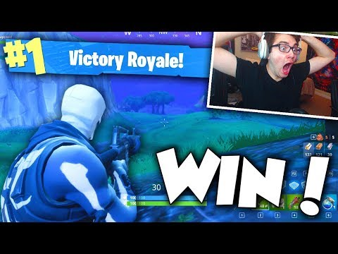 MY FIRST SOLO WIN ON FORTNITE! (i can\'t believe I did THIS GOOD...)
