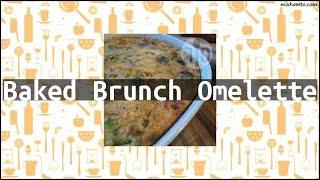 Recipe Baked Brunch Omelette